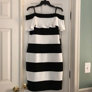 Off the Shoulder Adrianna Papell Dress